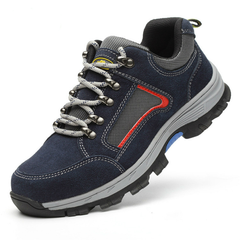 Safety shoes steel toe shoes plus size fashion work shoes35-46