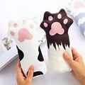 Чехол-карандаш в виде кошачьей лапы  милый подарок для девочек