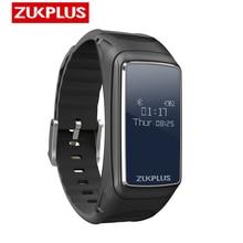 Zukplus akıllı bluetooth saat Kulaklık akıllı saat Erkekler Spor Kablosuz Kulaklıklar OLED Ekran nabız monitörü için Xiaomi Tele...