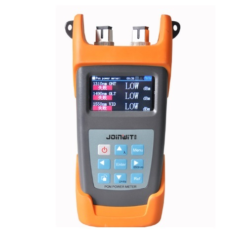 Joinwit JW3213NA PON Optical Power Meter FTTx PON Fiber Optical Power Meter with VFLJoinwit JW3213NA PON Optical Power Meter FTTx PON Fiber Optical Power Meter with VFL