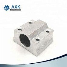 1pc SC8UU SCS8UU 8mm SCS6UU SCS10UU SCS12UU Linear Ball Bearing Block CNC Router Linear Unit Linear Shaft CNC 3D printer parts
