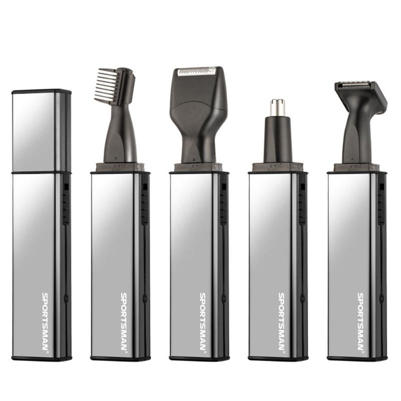 4 in 1 Electric Shaver Rechargeable Nose Hair Trimmer Nasal Eyebrow Cutter Shaver Razor Face Care Shaving Razor Machine for Men 5d razor electric shaver for men rechargeable men s shaving machine with nose trimmer eu plug