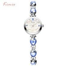 Kimio Brand Women Crystal Fish Bracelet Watches