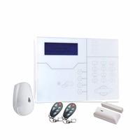 Spanish Voice Alarme System Network GSM TCP IP (RJ45 Port) Alarm System with Pet Immune Motion Detector Sensor