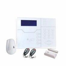 스페인어 음성 alarme 시스템 네트워크 gsm tcp ip (rj45 포트) 경보 시스템 (애완 동물 면역 동작 감지기 센서 포함)