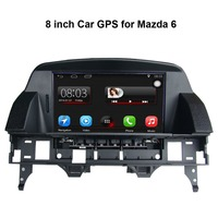 Car GPS Navigation For MAZDA 6 With 8 Inch Digital LCD And GPS Bluetooth A2dp PIP