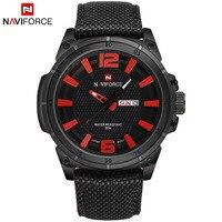 2017 New Fashion Luxury Brand NAVIFORCE Men Army Military Watches Men S Quartz Clock Man Sports