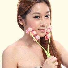 Rose Shape Face Up Roller Massage Slimming Remove Anti Wrink