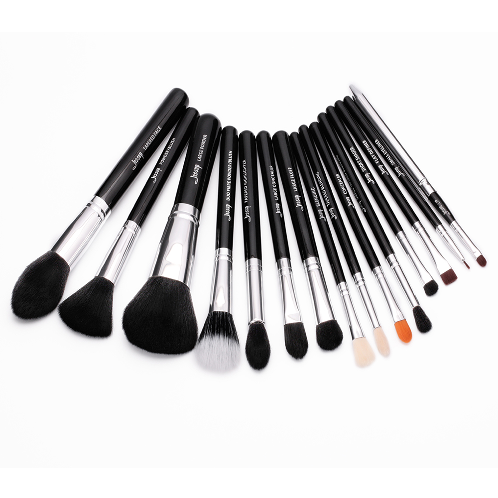 2017 New Jessup Pro 15pcs Makeup Brushes Set Powder Foundation Eyeshadow Concealer Eyeliner Lip Brush Tool T092