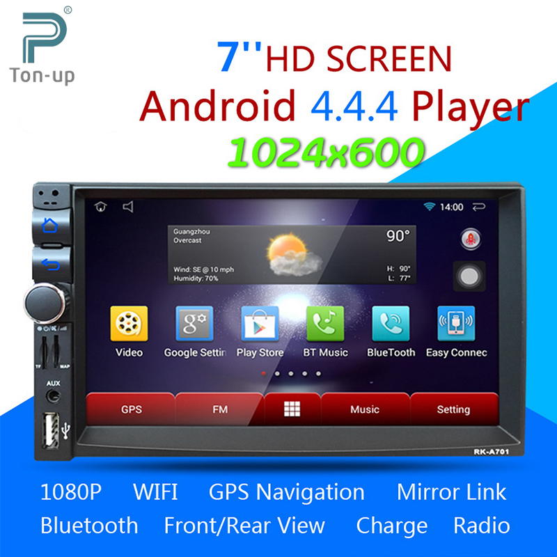 buy android 4 4 4 dual core car media player bluetooth a2dp touch screen gps. Black Bedroom Furniture Sets. Home Design Ideas
