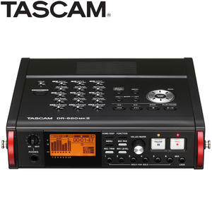 TASCAM Multi-Channel-Recorder Portable WAV for Film WAV/BWF DR-680MKII 8-Track Linear-Pcm