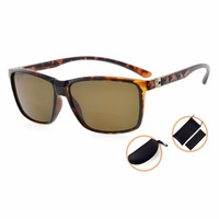 S032PGSG Eyekepper Spring Hinges Polycarbonate Polarized Bifocal Sunglasses Men Women 150 200 250 300