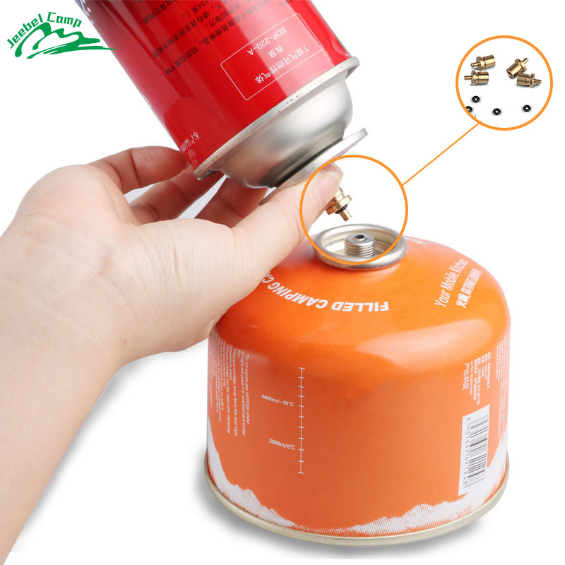 Gas Refill Adapter for Outdoor Camping Stove Gas Cylinder Gas Tank Gas  Burner Accessories Hiking Inflate Butane Canister