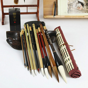 Image 3 - Traditional Chinese Painting Brush Set Soft Woolen Hair Chinese Calligraphy Brushes Ink Painting Hook Line Pen Painting Supplies