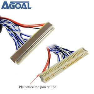 Image 2 - 400mm LVDS 케이블 FIX 30P D8 1ch 8 비트 30 핀 30 핀 단일 8 라인 26 47 인치 대형 스크린 패널 2 모델 무료 배송