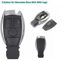 New Replacement Remote Key Shell Case Fob 3 BTN with blade for Mercedes-Benz BGA W203 W210 W211 AMG W204 C E S CLS CLK CLA SLK