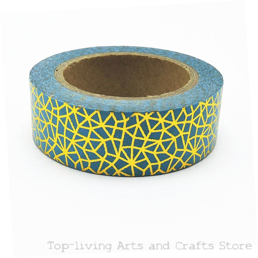 1pc sell green nets foil washi tape set japanese for Tape works decorative tape