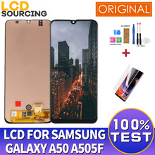 "6.4"" For Samsung Galaxy A50 2019 A505 LCD Display A505F A505FD Touch Screen Digitizer Assembly For Samsung A50 LCD Replace"