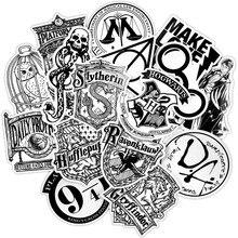 30 шт. черная, белая, случайная наклейка s, панк, аниме, JDM наклейка для детей, сделай сам, багаж, ноутбук, скейтборд, мото, велосипед, водонепроницаемая наклейка s