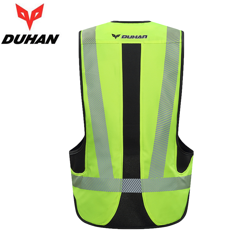 DUHAN Motorcycle Jacket Air bag Vest Motorcycle Jacket Vest Air Bag System Protective Gear Reflective Motorbike Airbag Moto Vest-in Jackets from Automobiles & Motorcycles    3