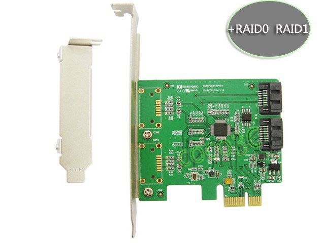 Marvell Chipset 2 Port SATA 6Gbps PCI Express Controller ...