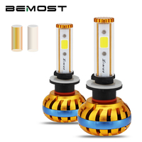 BEMOST W2 880 881 H27 Auto Super Bright Led Headlight Bulbs 12V 8000LM Car LED DIY