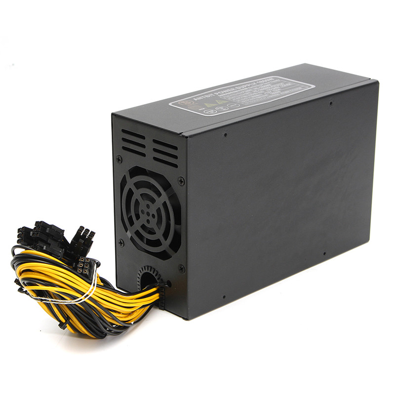 NEW 1800W Power Supply for Server Miner Machine Power Supply For 6 GPU ETH BTC Ethereum Antminer S7 S9 T9 for Mining 39y7288 39y7289 api6fs03 351w server power supply for x3250 x3250m2 95% new work perfect 1 month warranty