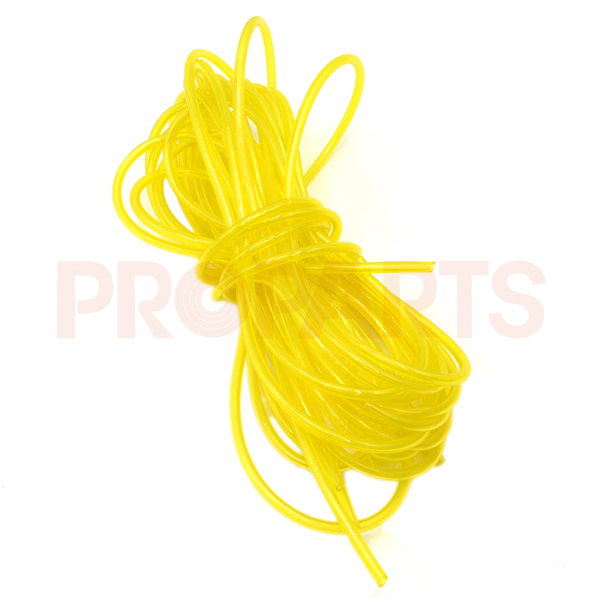 3.0mm x 10m Length Fuel Gas Line Pipe Hose For Poulan Craftsman Weedeater Trimmer Chainsaw Blower yellow fuel line 6617 fuel gas line pipe hose for poulan craftsman weedeater 530069216 trimmer chainsaw blower yellow fuel line 2 5mm x 10m