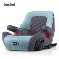 Besbet Child BoosterPad 3 12Years Old Portable Car With Simple SafetySeat ISOFIX Interface
