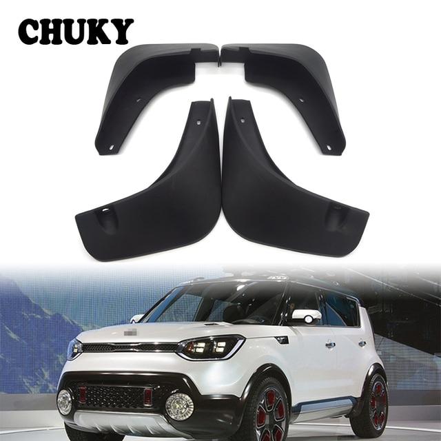 Kia Soul Accessories >> Chuky Car Front Rear Mudguards For 2010 2011 Kia Soul Accessories