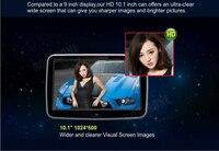 2 шт. X 10,1 ''Android автомобильный подголовник монитор мультимедийный плеер с HD емкостным сенсорным экраном/четырехъядерный/Wifi/динамик/Bluetooth