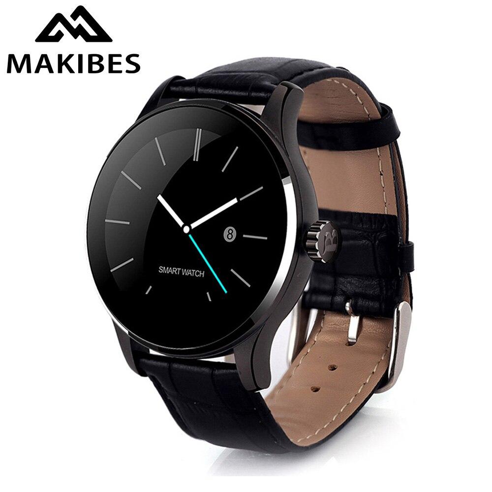 imágenes para Makibes K88H Bluetooth 4.0 Monitor Del Ritmo Cardíaco Reloj Smartwatch Inteligente MTK2502C Siri y Control por Gestos Para iOS Andriod smartphone
