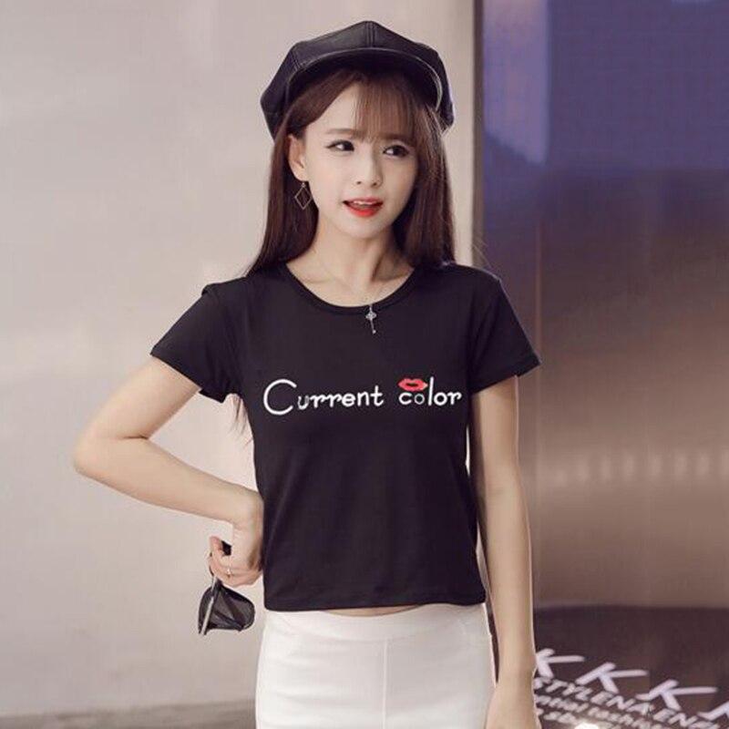 b31c5699955 Kawaii Trendy Summer Women T shirts Printed Short Sleeve Top Tees ...