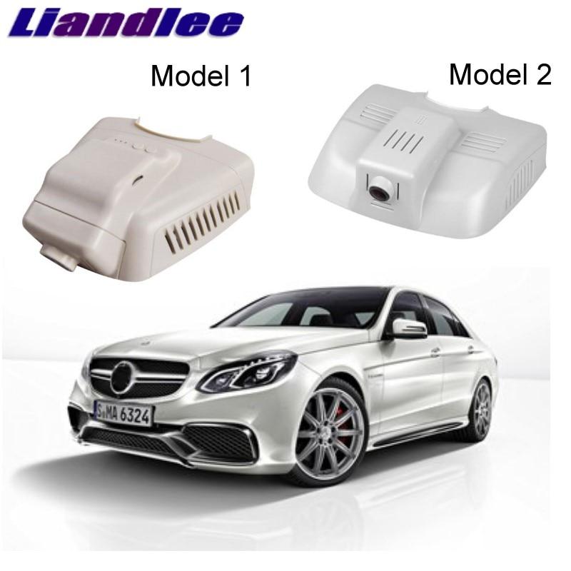 Liandlee For Mercedes Benz E MB W212 2009~2016 Car Black Box WiFi DVR Dash Camera Driving Video Recorder цена