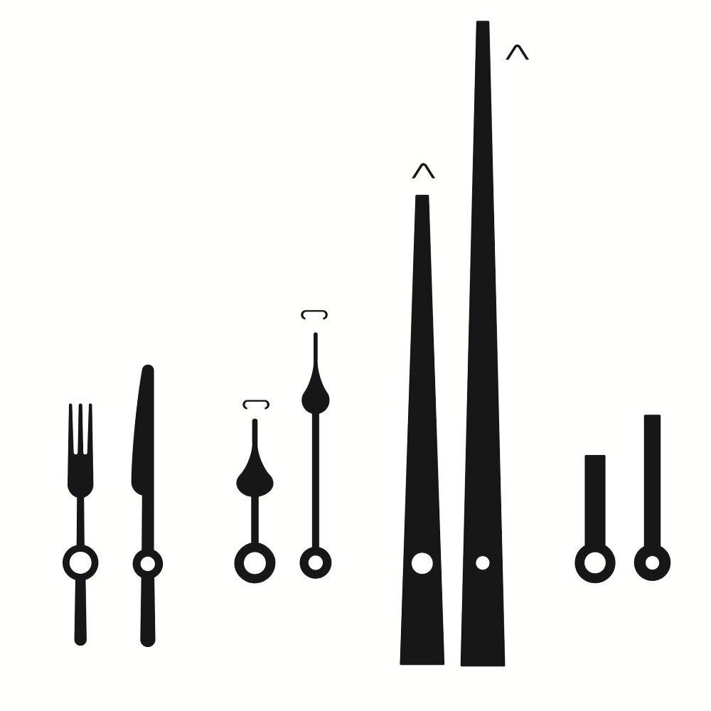 100sets DIY Clock Mechanism Quartz Wall Clock With Hook 28mm Shaft Movement Mechanism Parts Repair Replacement Essential Tools