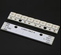 8-bit WS2812 5050 RGB LED instalado internamente unidade iluminação placa de desenvolvimento frete grátis