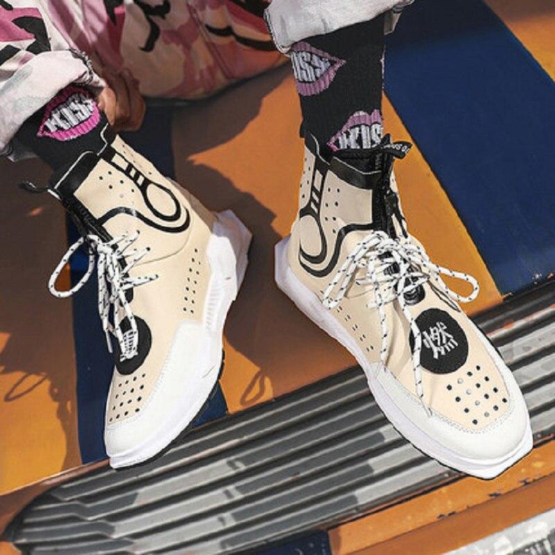 Mesh De Air Nouveau Mode Printemps Haute Personnalité Chaussures Respirant 2019 3 2 Et Hommes 1 Sports Automne Plein 8kX0OPnw