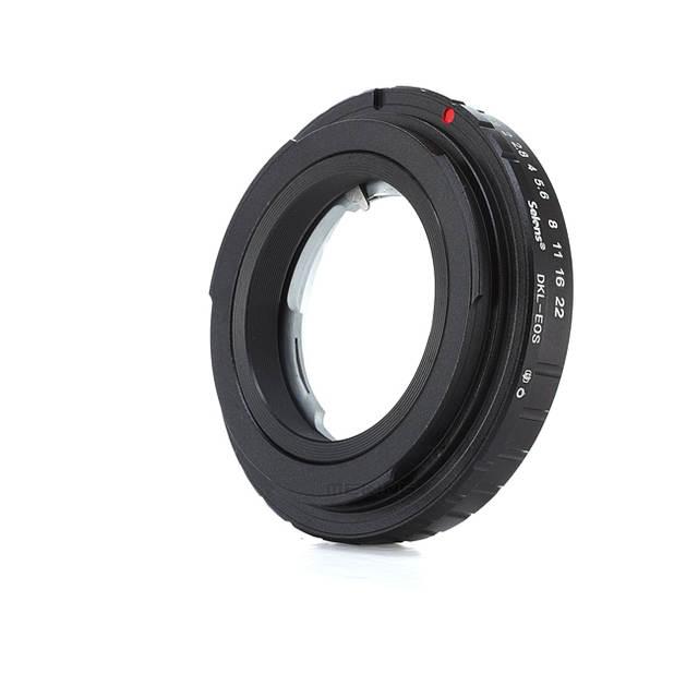 US $21 6 20% OFF|Selens Camera metal converter for DKL EOS Retina  Voigtlander DKL Lens to EF Mount Lens Adapter Ring for Canon 500D 600D  650D-in Lens