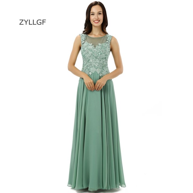 b7c712e776 ZYLLGF Vestido De Noite Longo Elegante Festa Boat Neck Long Chiffon Evening  Dress Plus Size Indian Evening Gown On Sale ZL35