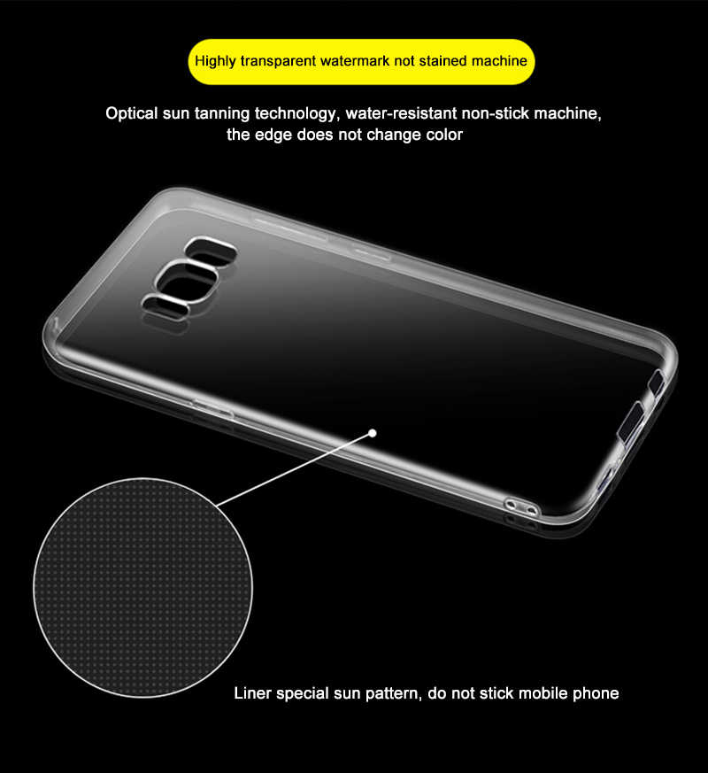 Nephy Lưng Silicone Trong Suốt cho Samsung Galaxy A3 A5 A7 A8 A9 J1 Mini J2 J3 J5 J7 Prime Pro neo 2015 2016 2017 Bao