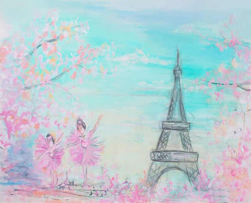 Виниловые фоны для фотосъемки розовые цветы весна боке фон для фотосъемки ребенок душ украшения фотосессия фоновые реквизиты