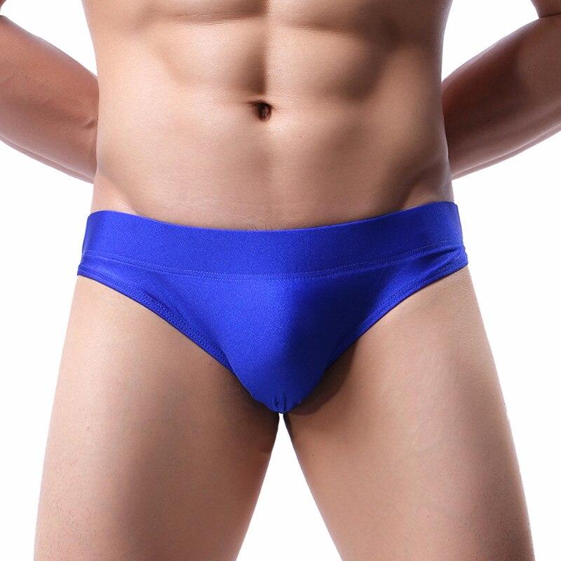 Trunks Men Pants Swimsuit Briefs Bathing Beach-Shorts Low-Waist Sexy New Summer European-Size