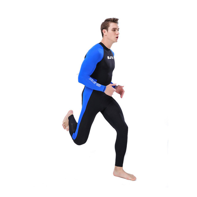 Slinx Scuba Diving Wetsuit Men Thin Diving Suit Lycra Swimming Wetsuit Surf Triathlon Snorkeling Swimsuit Full Bodysuit Soft
