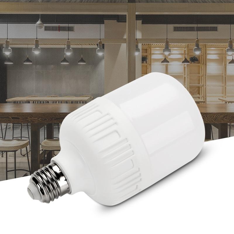 E27 screw led tube bulb home white light living room lighting indoor energy saving high power bulb wholesale
