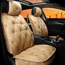 automobile car seat covers pu cushion set for Skoda Octavia Fabia Superb Yeti Rapid VOLVO V60 XC90 V40 XC60 S60L S80L good