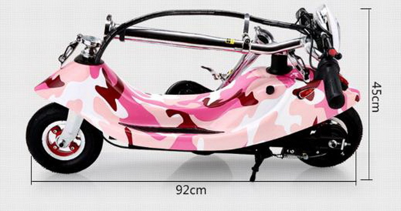 Sale 261002/Ladies portable mini dolphin electric scooter / can carry children electric bikes / electric cars/Comfortable cushion 5