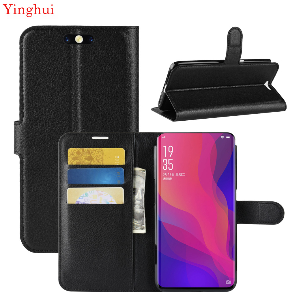 For <font><b>OPPO</b></font> <font><b>Find</b></font> <font><b>X</b></font> Case <font><b>Flip</b></font> Leather Phone Case For <font><b>OPPO</b></font> <font><b>Find</b></font> <font><b>X</b></font> High Quality Wallet Leather Stand <font><b>Cover</b></font> Filp Cases image
