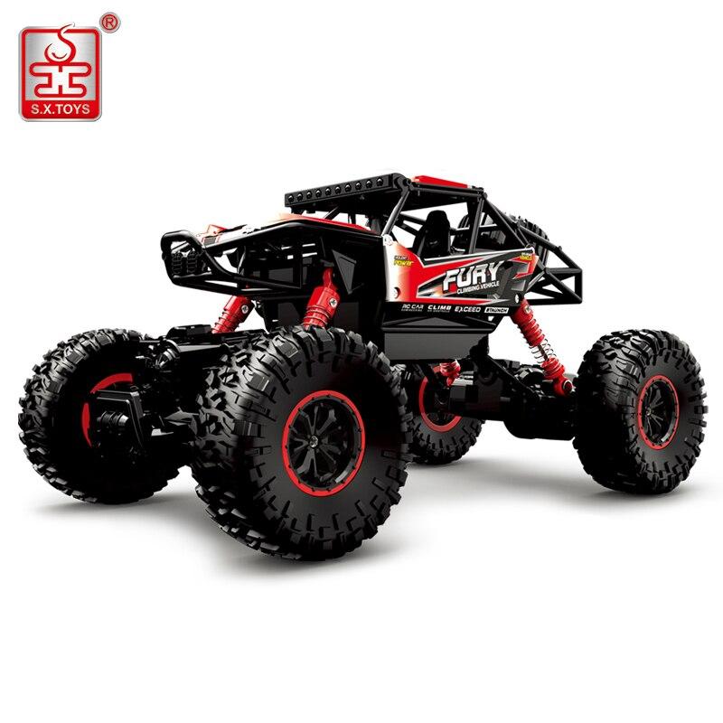 S. x. игрушки 3533a RC автомобиль 4WD 2.4 г Радио Дистанционное управление Модель автомобиля Весы 1:16 ралли машины на Дистанционное управление высок...
