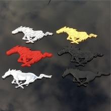 لموستانج شيلبي GT 3D عالية الجودة معدن تشغيل الحصان ملصق سيارة الديكور ملصقات السيارات الجسم الملحقات.