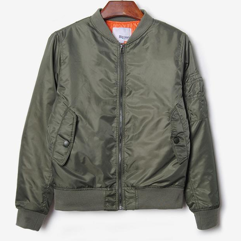 Popular Mens Green Long Bomber Jackets-Buy Cheap Mens Green Long